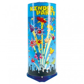 Tischbombe Maxi Kinderparty H: 26 cm,