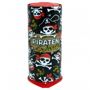 Tischbombe Maxi Party Pirat H: 26 cm,