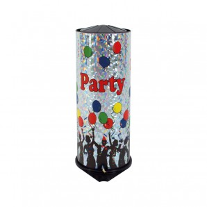 Tischbombe Maxi Party Time H: 26 cm,