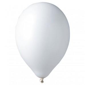 Ballon weiss, 12 Stück ø 30 cm
