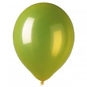 Ballon gelb, 12 Stück ø 30 cm
