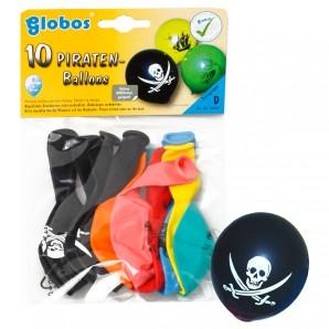 Ballon Piraten assortiert 10 Stück,