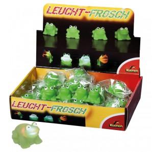 Leucht-Frosch leuchtet durch Berührung