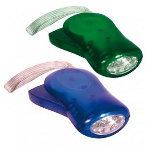 Entdecker-Taschenlampe mit Dynamo,
