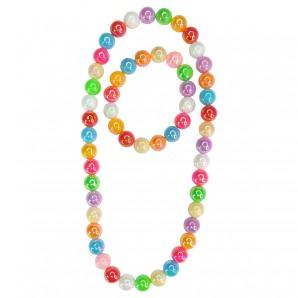 Armband u.Halskette Colour Me Rainbow,
