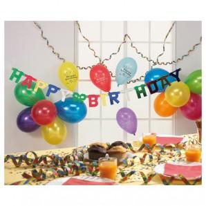 Party-Set Happy Birthday 18-teilig,