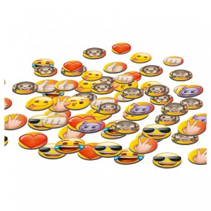 Deko-Konfetti emoji