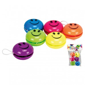 Yoyo Mini Happy Face 6 Stk. im Beutel
