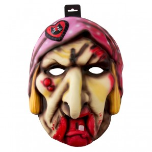 Maske Böse Hexe XXL