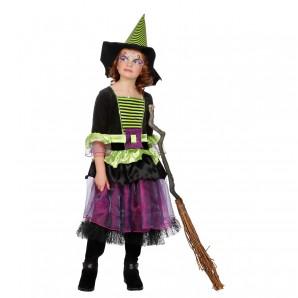 Hexe mit Hut Gr.140 2-teilig