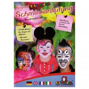 Schminkbuch für 16 Masken