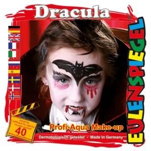 Schminkset Dracula 4 Wasserlösliche Farben