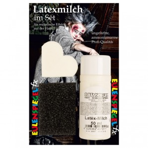 Latex Milch 50 ml Blister dermatologisch getestet