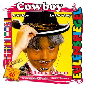 Schminkset Cowboy 4 Wasserlösliche Farben