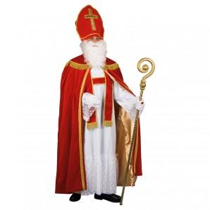 Bischofsgewand 4-teilig Umhang mit Stola