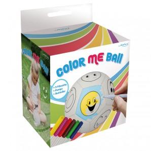 Ball Color Me Lederball zum Bemalen