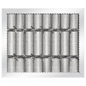 Knallbonbon Trend silber 8 Stk.