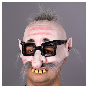 Maske hässlicher Kauz Latex
