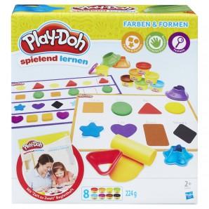 Play-Doh Kleine Knetschule Farben & Formen