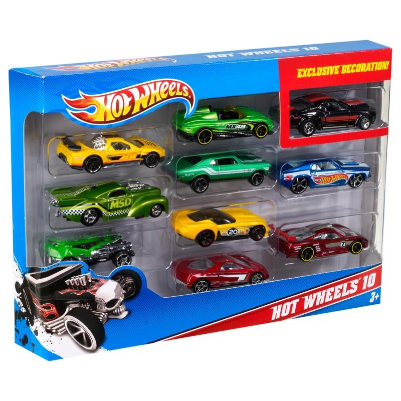 Hot Wheels 10er Set