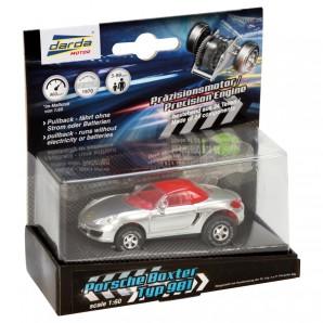 Darda Auto Porsche Boxster Cabriolet silber,