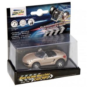 Darda Auto Porsche Boxster Cabriolet gold,