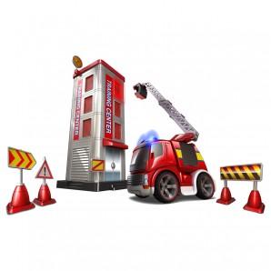 Feuerwehrstation mit Truck Truck 22 cm,