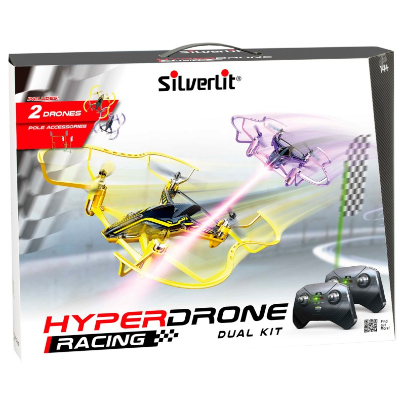 Hyperdrohne Dual Kit 14x13 cm,