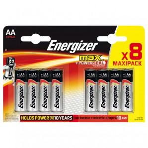 Batterie Energizer AA, 8-er Pack,