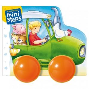 Fahr los, kleiner Traktor Räder-Rasselbuch,