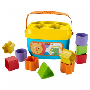 Babys erste Bausteine Formen Sortierspiel