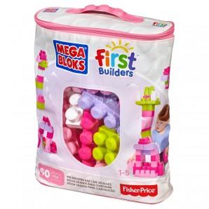 Mega Bloks Bausteine pink First Builders,