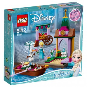 Elsas Abenteuer auf d.Markt Lego Disney
