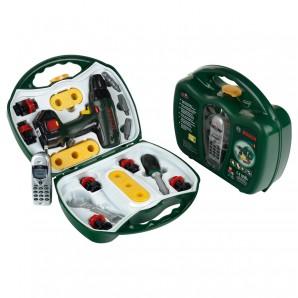 Werkzeugkoffer mit Handy 25-teilig,