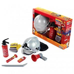 Feuerwehr Set 7-teilig Megafon,