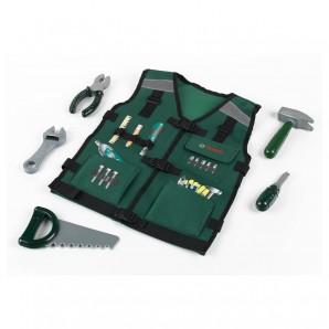 Arbeitsweste Bosch 6-teilig mit Werkzeugen