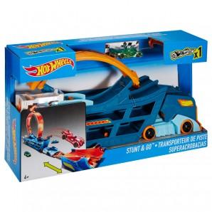 Stunt N Go Transporter und Trackset,