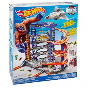 Hot Wheels Super Megacity Parkgarage,