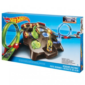Hot Wheels Rebound Raceway mit 2 Looping-Startern