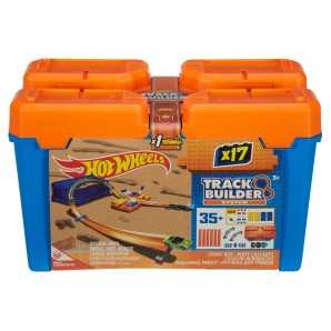 Track Builder Starter Kit Hot Wheels,