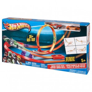 Track Builder Pistenset Hot Wheels,