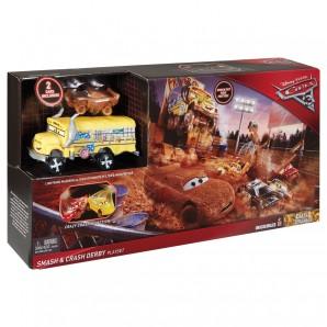 Fire Barrel Blast Spielset Disney Cars