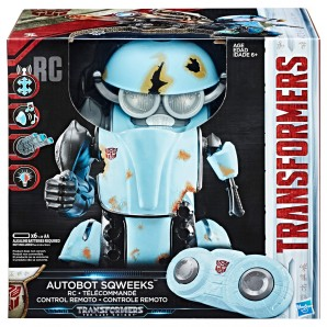 Transformers Autobot Sqweeks RC-Roboter,