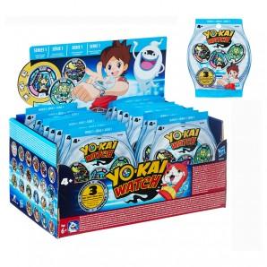 Yo-Kai Watch Sammelmedaillen 3 Medaillen pro Tüte