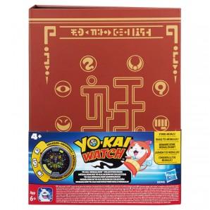 Yo-Kai Watch Sammelbuch mit 1 Medaille,