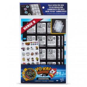 Yo-Kai Watch Sammelhüllen, d 3 Hüllen und 1 Medaille,