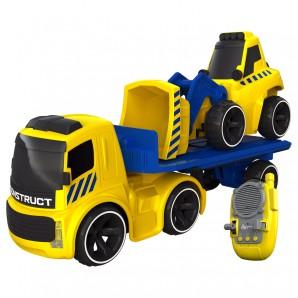 Lastwagen mit Bulldozer I/R
