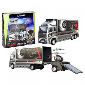 Falcon Mission Set I/R Indoor Helikopter und Truck