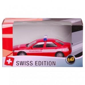Swiss-Feuerwehr PW 1:43,