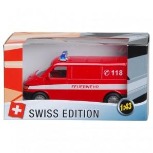 Swiss-Feuerwehr VAN 1:43,